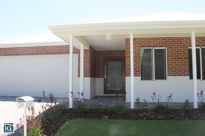 front view of new home in whitby estate near mundijong