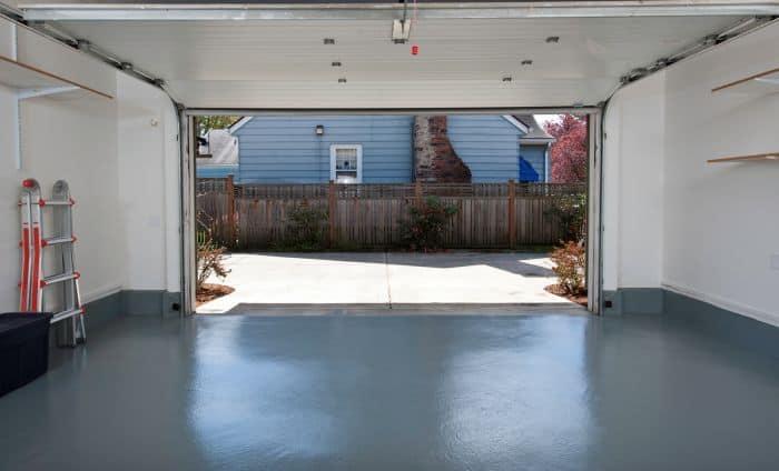 epoxy flooring in garage